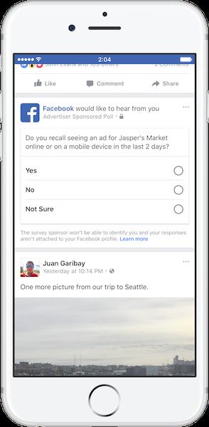 Brand Lift Survey Facebook là gì? và cách cài đặt như thế nào? 4