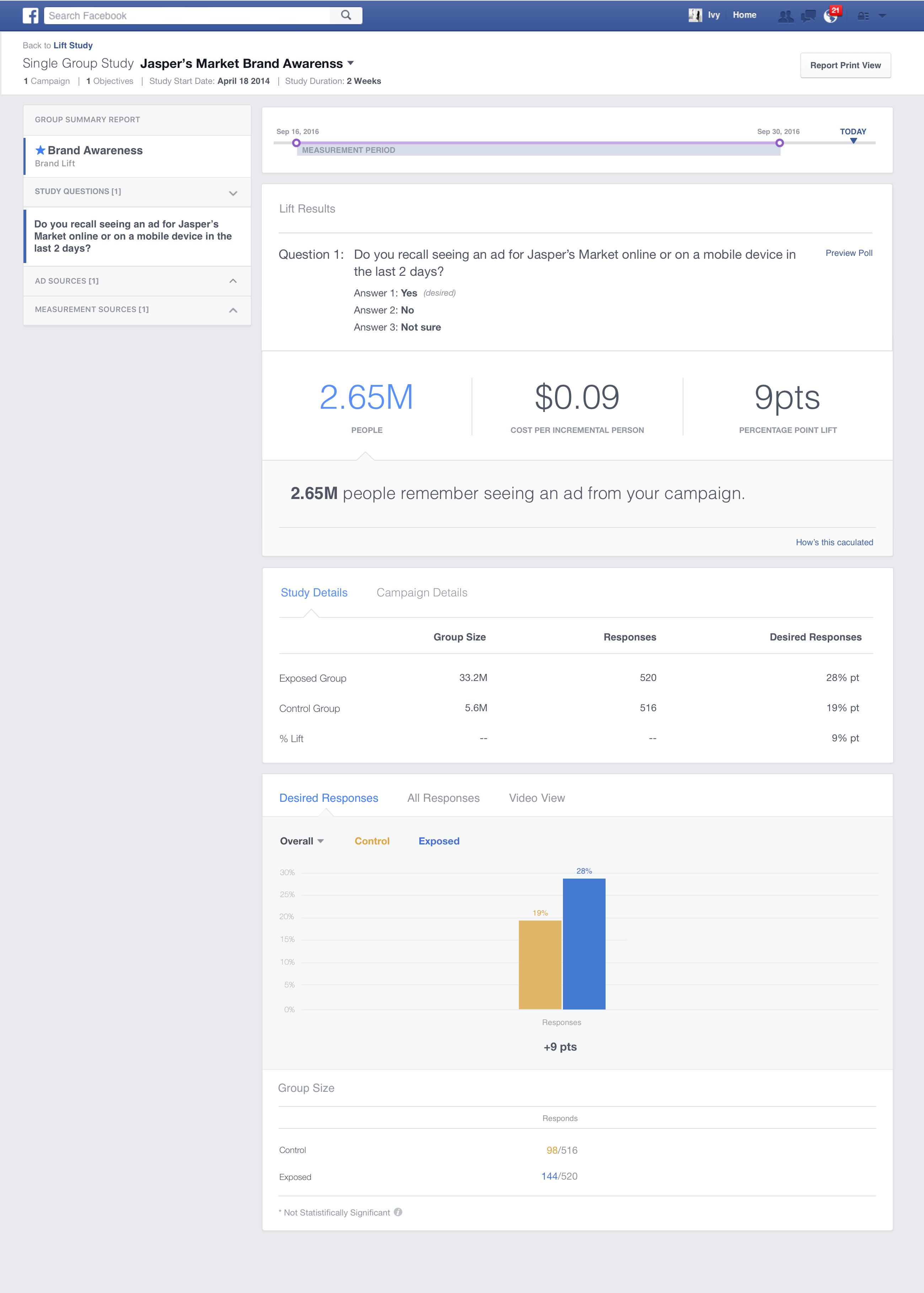 Brand Lift Survey Facebook là gì? và cách cài đặt như thế nào? 19