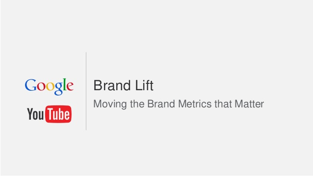 Brand Lift Survey Youtube
