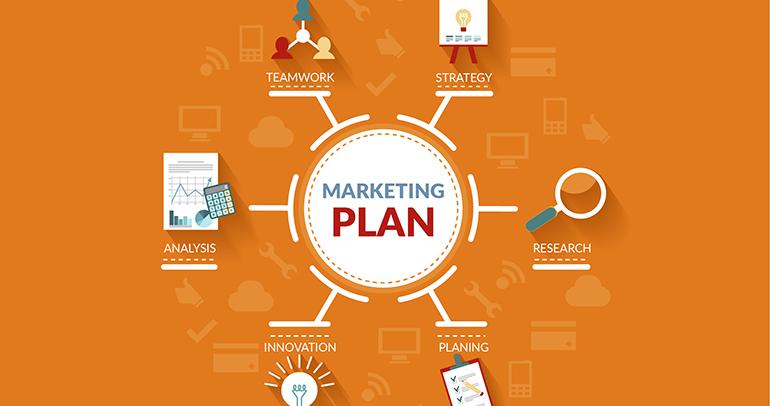 Sơ đồ kế hoạch Marketing Online 1