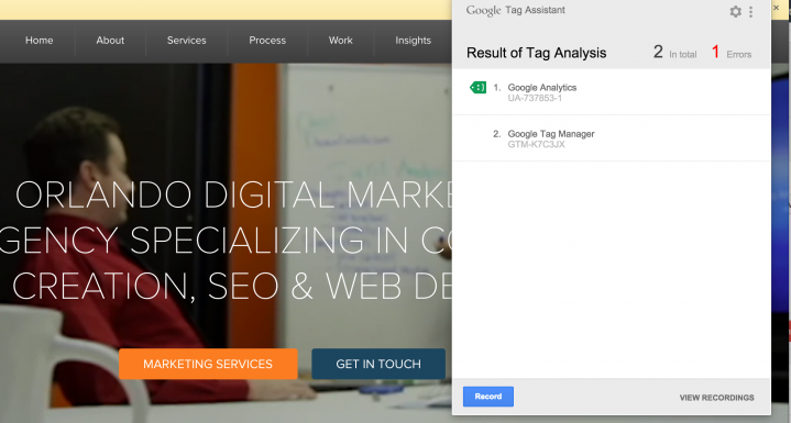 Google Tag Assistant là gì? và Hướng dẫn sử dụng Google Tag Assistant 3