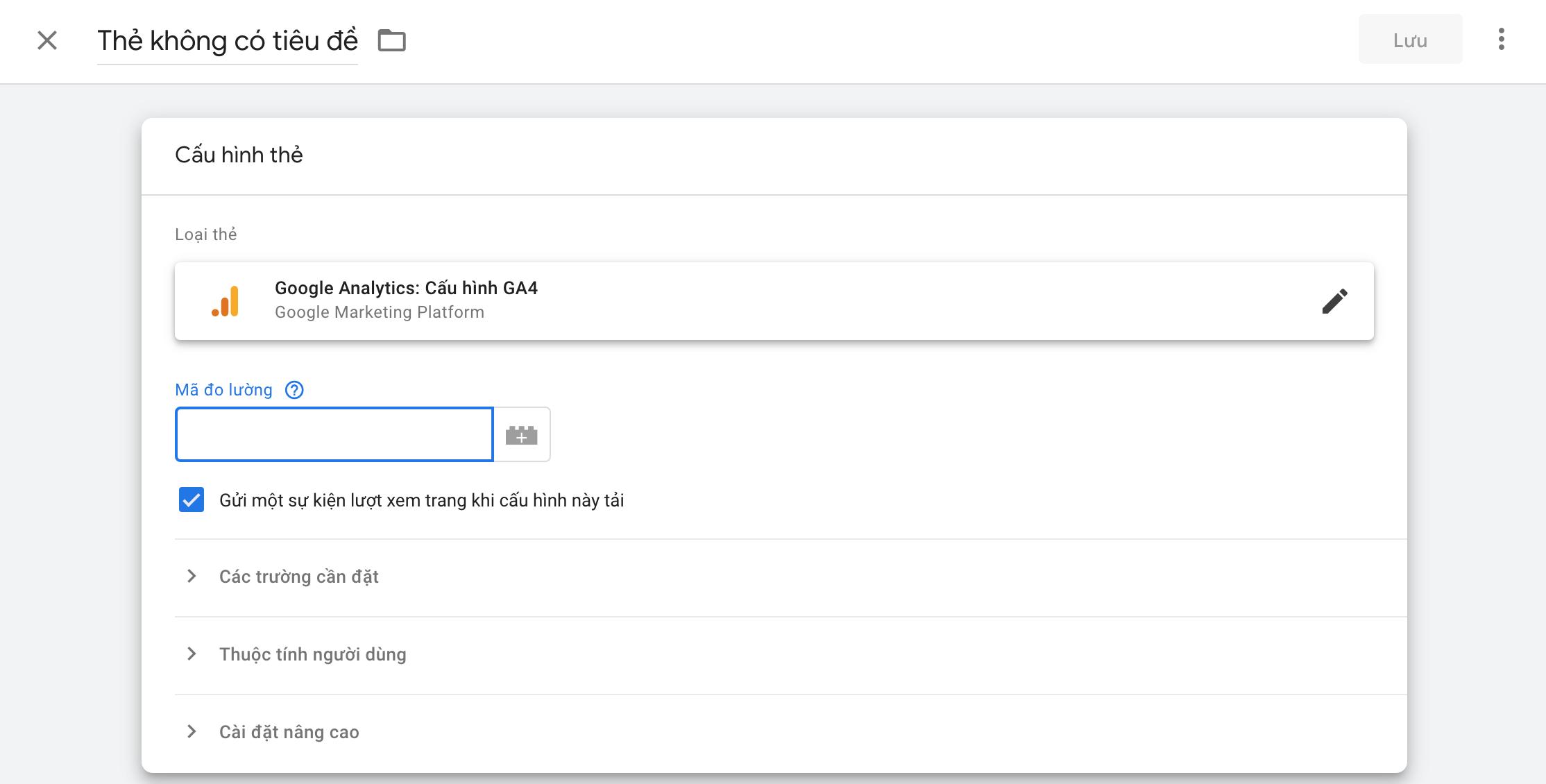 Hướng dẫn cài đặt Google Analytics cho website 6