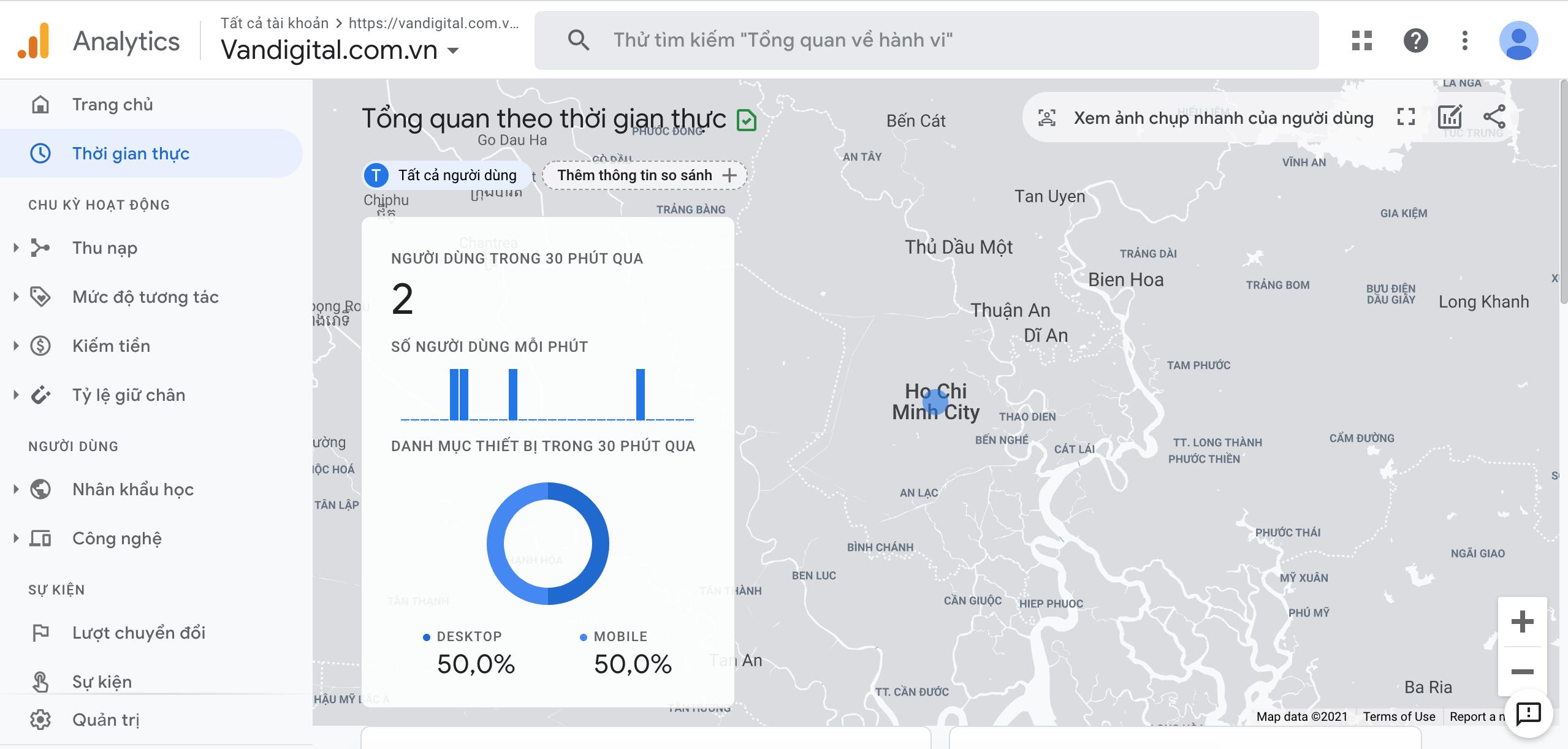 Hướng dẫn cài đặt Google Analytics cho website 8