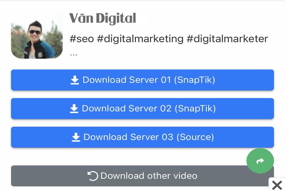 4 bước dễ dàng tải video trên Tiktok không có logo 2